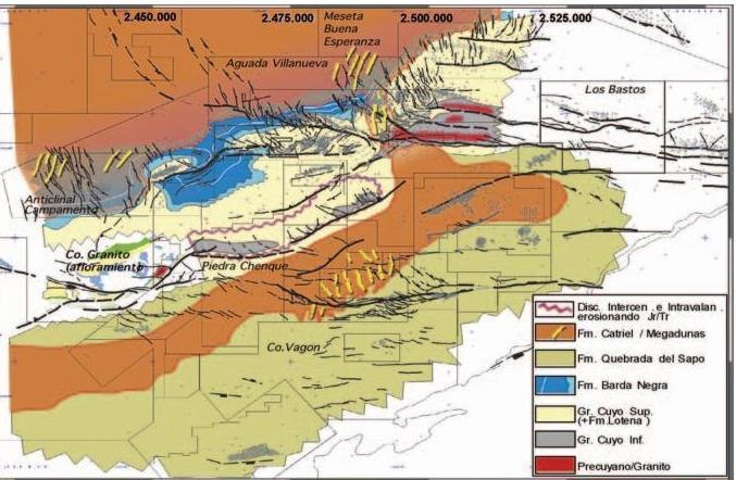 geologia neuquen