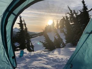 Intentional Self-Isolation at Mt. Baker-Snoqualmie National Forest
