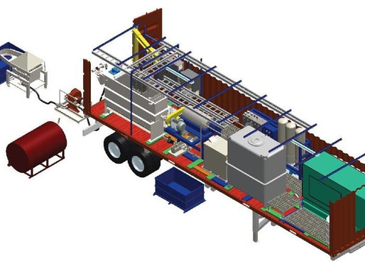 Mobile Sludge Separation & Hydrocarbon Recovery with Integrated Water Purification & Solids Removal