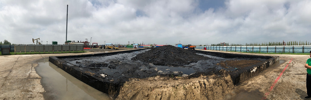 petroleum waste crude recovery plant in daqing, china