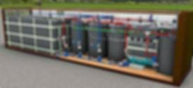 lemar digester design for hydrocarbon waste degradation