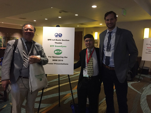 BTP GreenZyme® at the Western Regional Meeting California