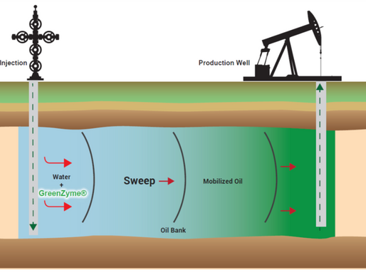 Enzyme Enhanced Oil Recovery (EEOR) for Waterflooding Operations