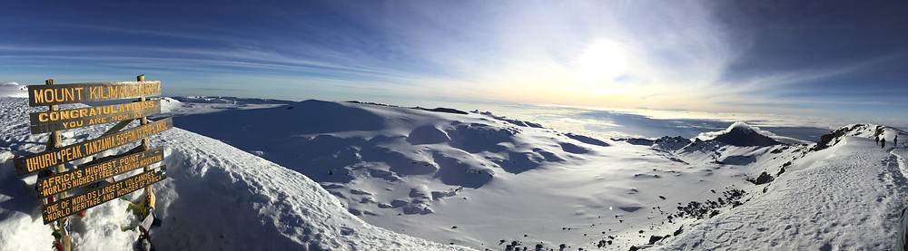 Kilimanjaro submit view June 2018
