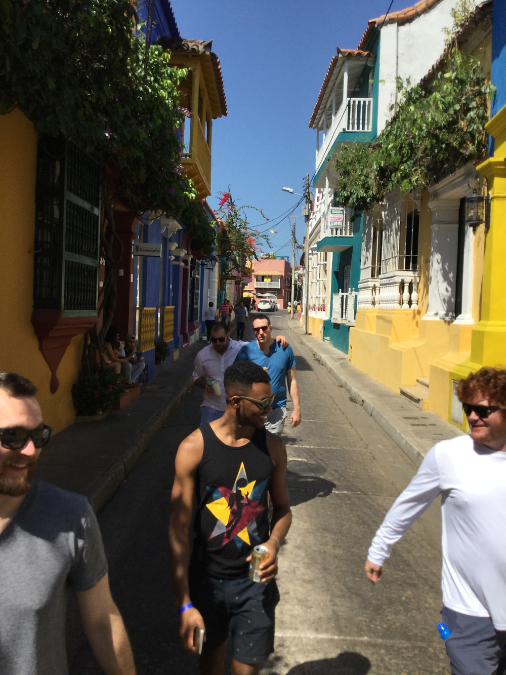 walking on the streets of Cartagena, Colombia 2018