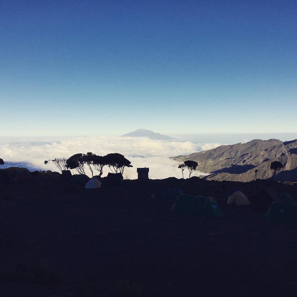 Kilimajaro high camp May 2018