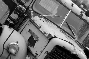 white diesel truck