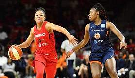 In addition to having the best name in professional basketball, Aerial Powers enjoyed the strongest year of her career while serving as a catalyst for the Mystics.