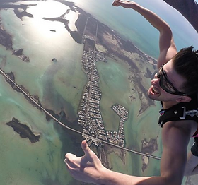 Skydiving in Key West