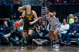 Lauren Cox grew up in Flower Mound, Texas, before heading two hours down I-35 to play college ball at the University of Baylor.  This time, she's making a bigger move, as her next home will be in the Hoosier state. When the Fever selected Cox third overall, she joined current general manager Tamika Catchings as the only players in franchise history taken at that draft spot.