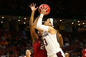 Chennedy Carter is the purest scorer in this year's draft class. A three-time All-American and three-time First Team All-SEC, she ranked second all-time in A&M scoring, despite only being in the program for three years.