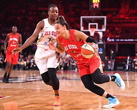 McBride played a critical supporting role for a team that retooled by adding starters Cambage and Young ahead of the 2019 season.