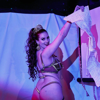 Corset reveal during my Stone Goddess act!