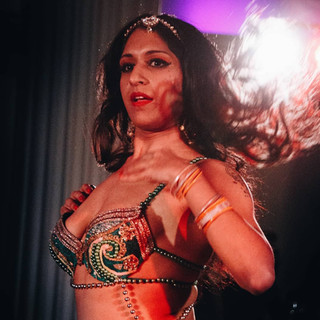The incredible Bolly Ditz Dolly during a stunning performance!