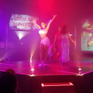The fabulous Trixie Kixx during her incredible performance!