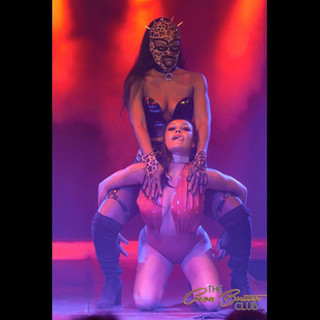 The incredible Femme Domme act by Purrsia Kitt!  Featuring Cleopantha!