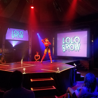 Lolo Brow's performance at the House Of Burlesque Revue Show was EPIC