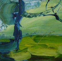 I was just trying to escape, The Liquer Oil on board 21x30cm 2014