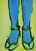 Blue legs II