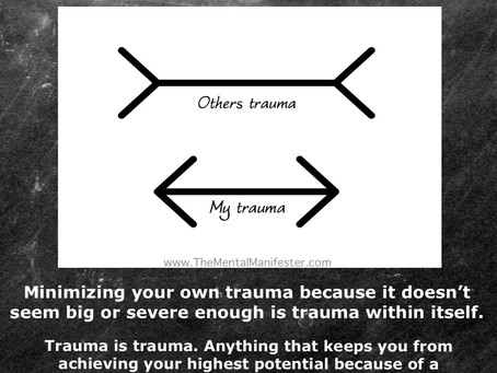 Minimizing Your Own Trauma