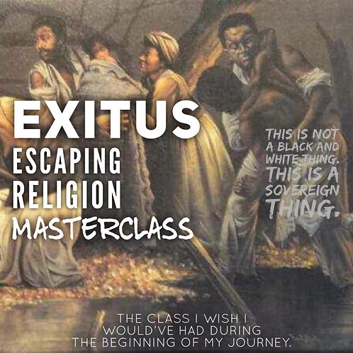 Exitus_ Leaving religon back into spirituality