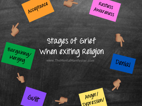 📝📚 Stages Of Grief When Exiting Religion