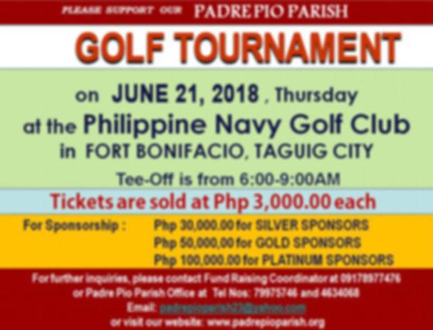 Padre Pio Fund Raising
