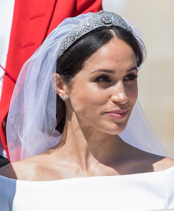 Meghan Markle Wedding Day Makeup
