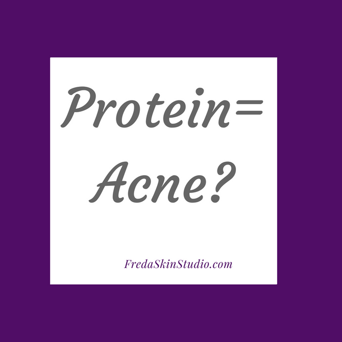 Could food be the cause of your acne?Check out our Facebook page to read the article!#fredaskinstudi