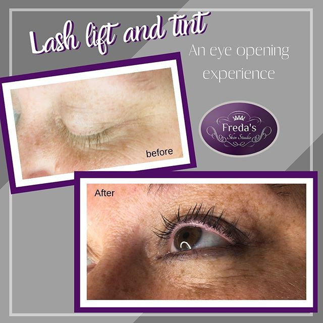 Lash Lift and Tint_Results last 6-8weeks