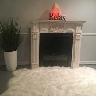 Fireplace @Freda's Skin Studio
