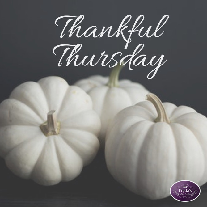 Thankful Thursday-What are you thankful for?