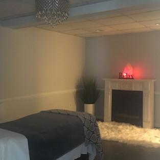 Fireplace corner @Freda's Skin Studio