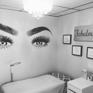 Freda's Skin Studio Lash/Brow Wall
