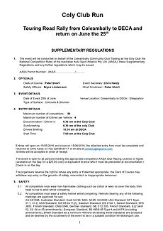 Supplementary Regs Page 1