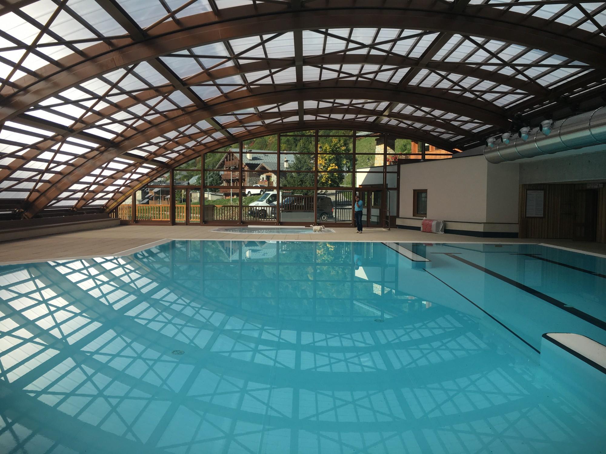 piscine couverte l'hiver