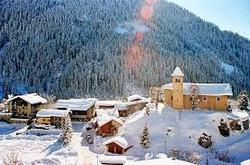 L'église en hiver