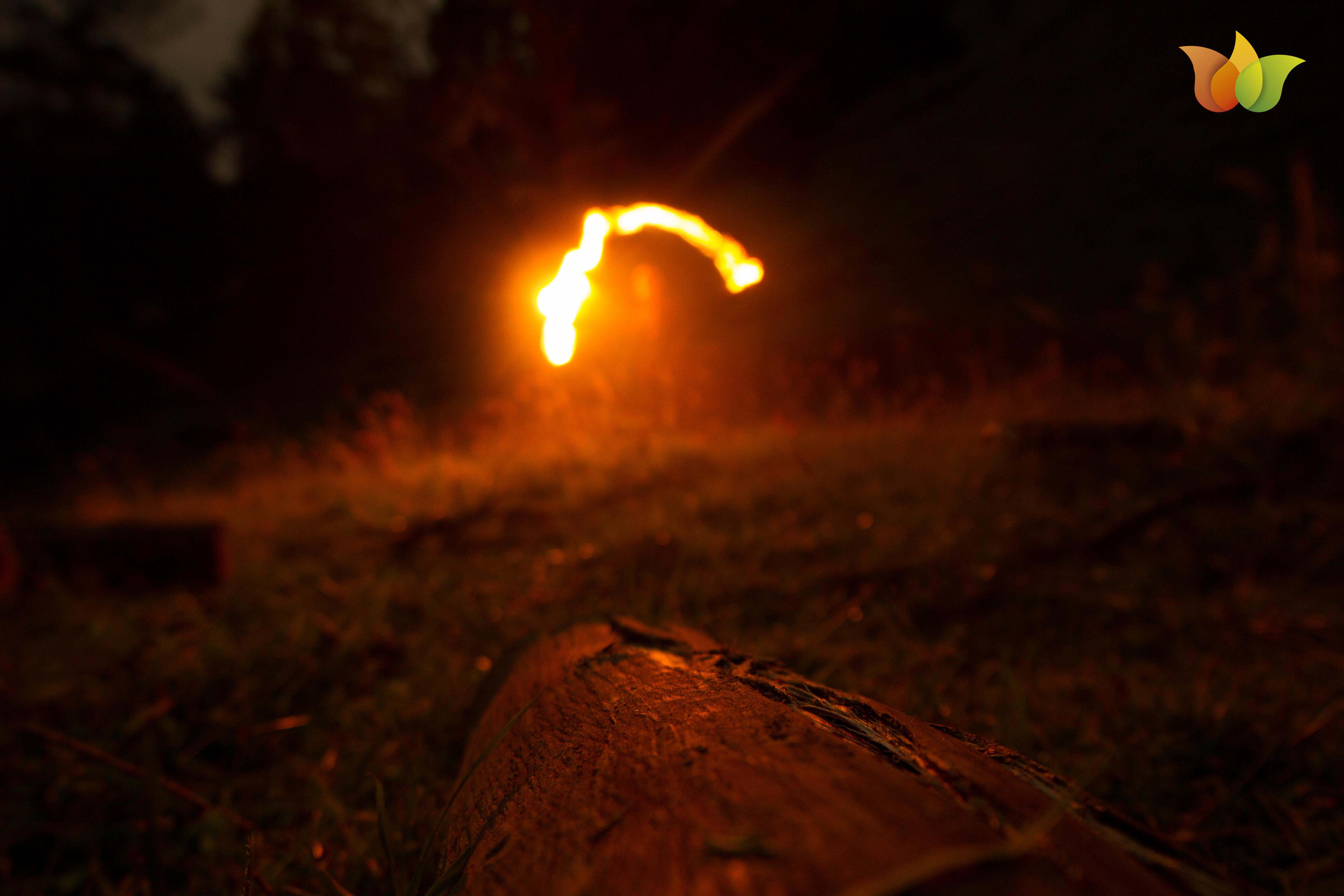 jugamos con fuego, jugamos con luz