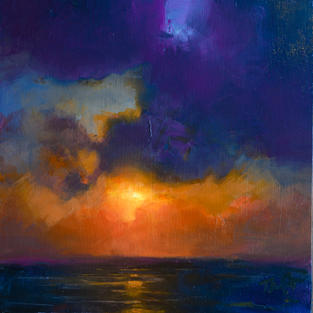 Okinawa Sunset Color Study III