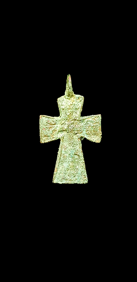 Small Medieval / Post-Medieval Cross Pendant