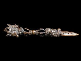 Indo-Tibetan Phurba Dagger