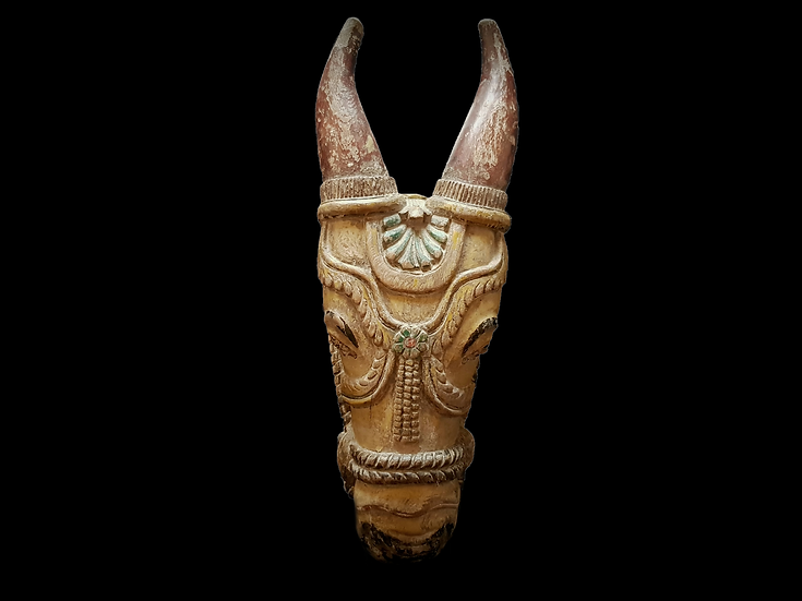 Ceremonial Kâlakettu Nandi Bull Head