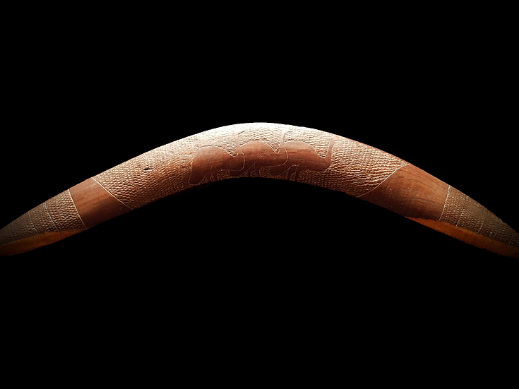 Aboriginal Transitional Boomerang