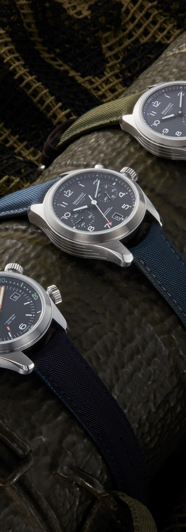 Bremont Millitary collection product photography .j