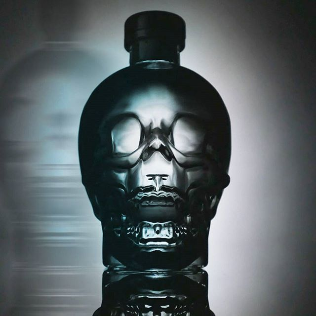 Scarrry! _crystalheadvodka product shot by _vlad4j #studio #studioshoot #studiotime #productshoot #l