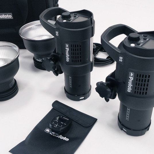 Hire Profoto d2 1000 TTL kit - 65£
