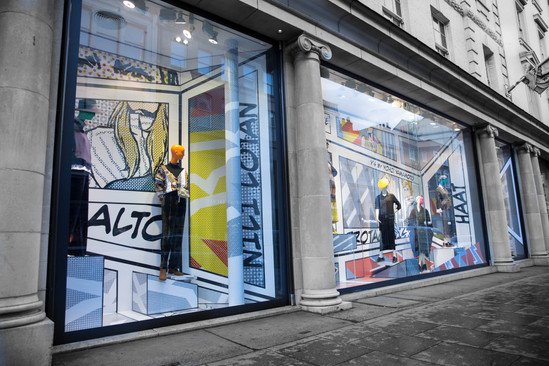 Fenwick Window display illustration