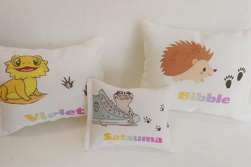 Personalise mini pet pillow