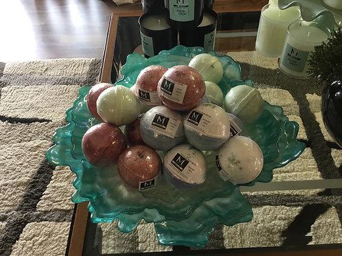 Handmade Bath Balls - Bundle of 3