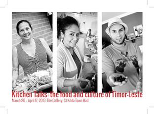 KITCHENTALKS: the food adn culture of timor leste